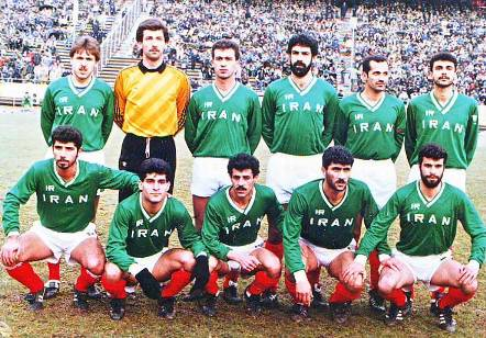 شیخ لاری تیم ملی ایران