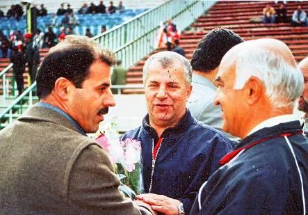 علی پروین و احد شیخ لاری