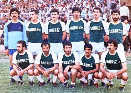 منتخب تبریز - احد شیخ لاری